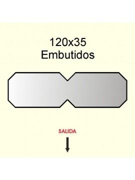 ETIQUETAS 80x45 Polipropileno Termico