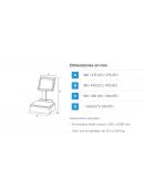 HOJAS ADHESIVAS REMOVIBLES PRECORTADAS ( para impresora)